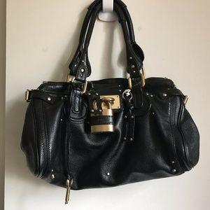 CHLOE Black Paddinton Bag